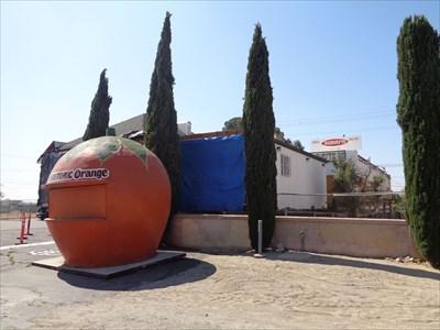 Giant Orange Stand