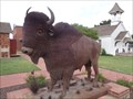 Image for Bison -  Route 66, Elk City, Oklahoma, USA