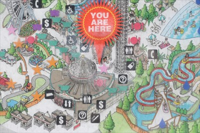Elitch Gardens Carousel 39 You Are Here 39 Maps On