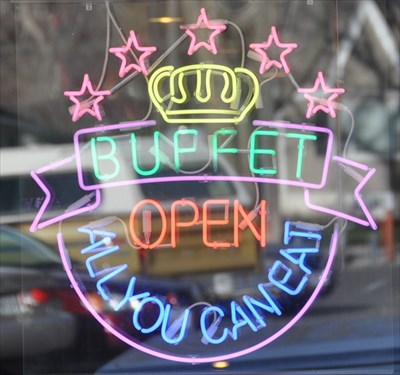 Buffet - All You Can Eat - Neon Signs on Waymarking com