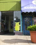 Image for Pikachu on a window - Oakland, CA