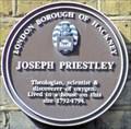 Image for Joseph Priestley - Lower Clapton Road, London, UK