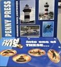 Image for Harbour Town Lighthouse - Penny Smasher - Hilton Head Island, South Carolina, USA.