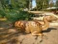 Image for Lying iguanodon - Mardorf, Germany