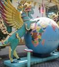 Image for Burmese Temple - Earth Globe - Penang, Malaysia.