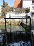 Image for Sluice Gate 'Griesstraße' Pfullingen, Germany, BW