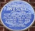 Image for Charles Wesley - Wheatley Street, London, UK