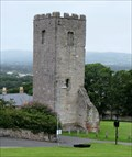 Image for Tower of St Hilary's Church, Denbigh - Wales.