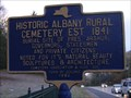 Image for Historic Albany Rural Cemetery Est. 1841 - Colonie, NY
