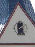 Image for Church Clock - Bad Salzig, Rhineland-Palatinate, Germany