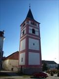 Image for Zvonice kostela Povýšení sv. Kríže - Cernovice, okres Pelhrimov, CZ