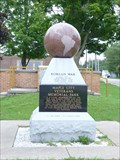 Image for Korean War Memorial - Maple City Veteran's Memorial Park, Paw Paw, Michigan