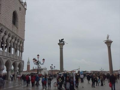Winged Lion Column - Venice