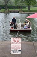 Image for Chain Ferry, Old Town, Stratford upon Avon, Warwickshire, UK