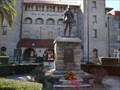 Image for Don Pedro Menéndez de Avilés Statue - St. Augustine, Florida, USA