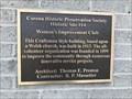 Image for Woman's Improvement Club - Corona, CA