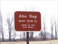 Image for Aho Gap