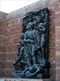 Image for The Warsaw Ghetto Uprising by Nathan Rapoport - Jerusalem, Israel