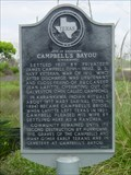 Image for Site of Landmark Campbell's Bayou