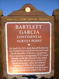 Image for Bartlett Garcia Continental Survey Point