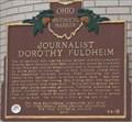Image for Journalist Dorothy Fuldheim (44 - 18)