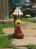 Image for Flag Hydrant - Benton Park North Neighborhood, St. Louis, MO