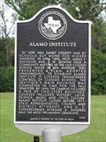 Image for Alamo Institute