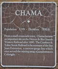 Image for Chama ~ Population 1199