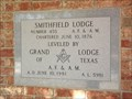 Image for 1981 - Smithfield Masonic Lodge No. 455 A.F. & A.M.- North Richland Hills, TX