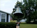 Image for Maxton, Alma, Southbound RR Bell - Maxton, NC