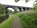 Image for Former Midland Railway Viaduct Over Huddersfield Broad Canal - Bradley, UK