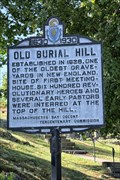 Image for OLDEST - Old Burial Hill - Marblehead MA