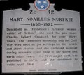 Image for Mary Noalilles Murfree ~ 2E 42
