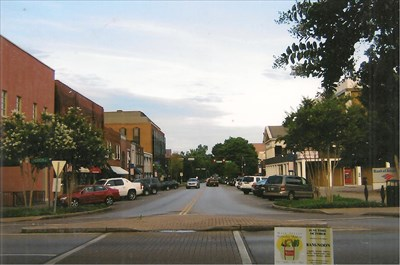 East Main Street today