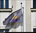 Image for Libochovice - municipal flag on the Town Hall / mestská vlajka na mestském úrade (Central Bohemia)