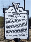Image for Second Manassas Campaign Stuart's Catlett Station Raid