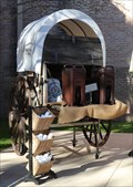Image for Covered Wagon -- Guenther House, San Antonio TX