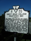 Image for Sweet Briar College Chartered 1901