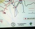 Image for Zimni turisticka mapa lyzarskych tras - Vrch Tri panu / okres Teplice, CZ