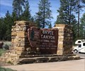 Image for Bryce Canyon National Park Entrance Sign - Bryce, UT
