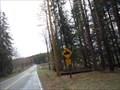 Image for Snowmobile Crossing - Rush Township, Pennsylvania