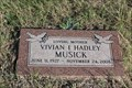 Image for Vivian I. Hadley Musick - Rock Church Cemetery - Tolar, TX, USA