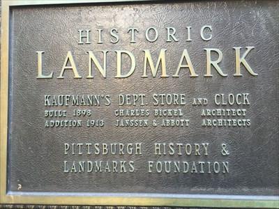 Found this landmark while walking in Pittsburgh