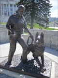 Image for Female K-9 Officer with her Police Dog - Salt Lake City, Utah