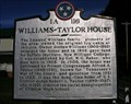 Image for WILLIAMS-TAYLOR HOUSE ~ 1A 116