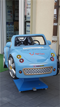 Image for Little Blue Car - Saalfeld/ Thüringen/ Deutschland