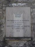 Image for Martyr Murder Millennium Marker - The Square, Corfe Castle, Dorset, UK