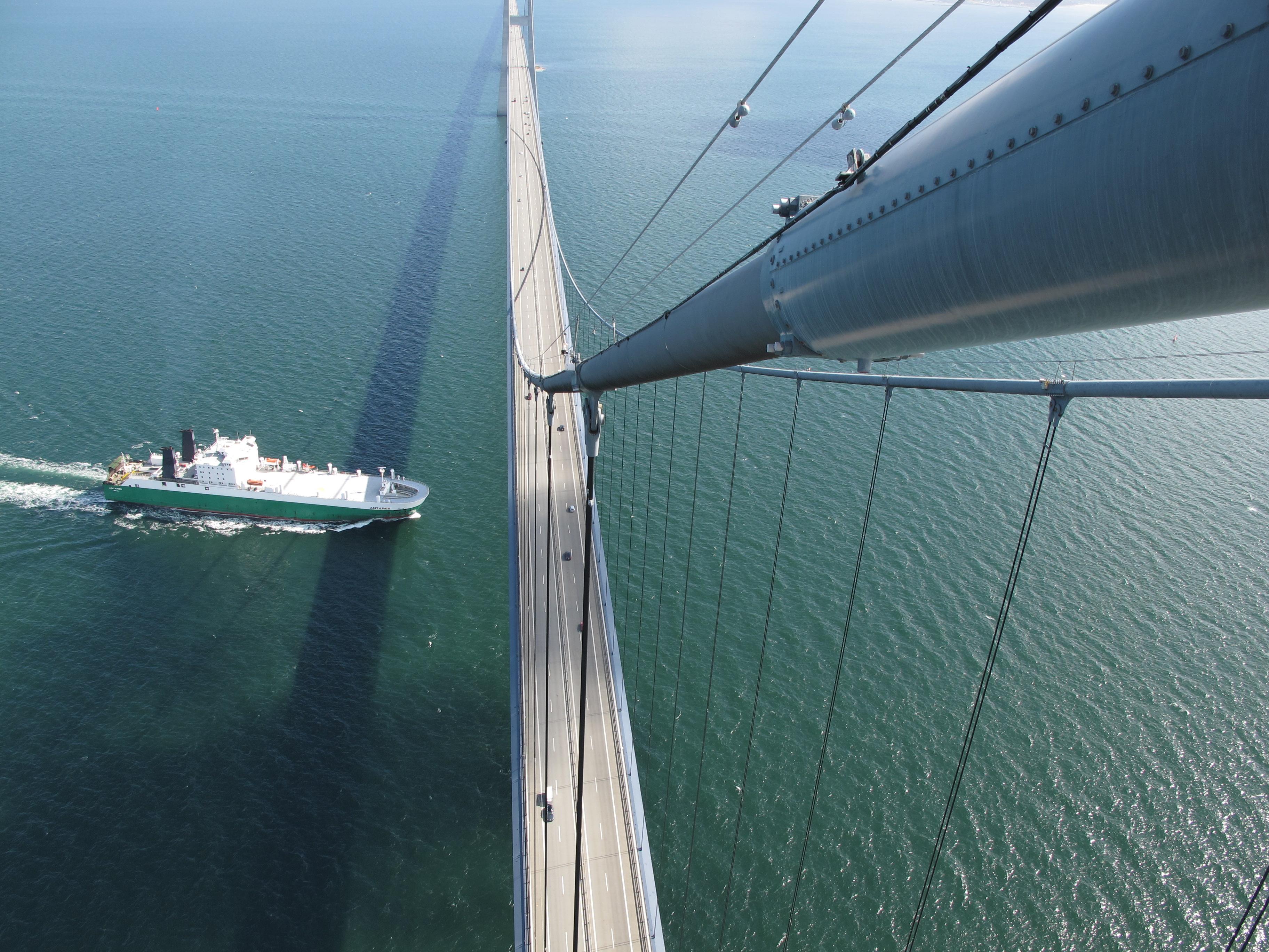 [组图] 丹麦大贝尔特桥 最复杂跨海工程(20P) - 路人@行者 - 路人@行者