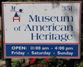 Image for Museum of American Heritage - Palo Alto, CA