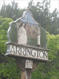 Image for Arrington  Village Sign- Cambridgeshire
